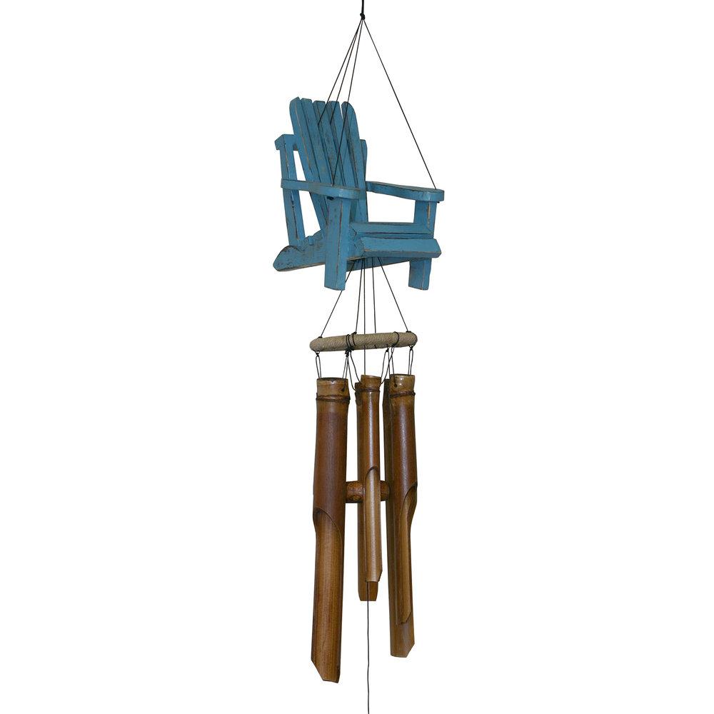 299 - Beach Chair Bamboo Wind Chime