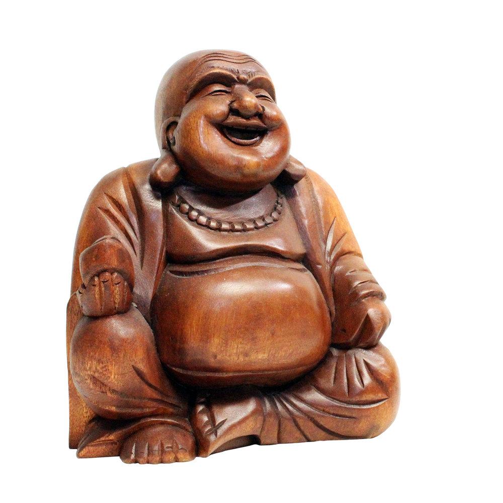 """665CJB - 12"""" Chinese Jolly Buddha Statue"""