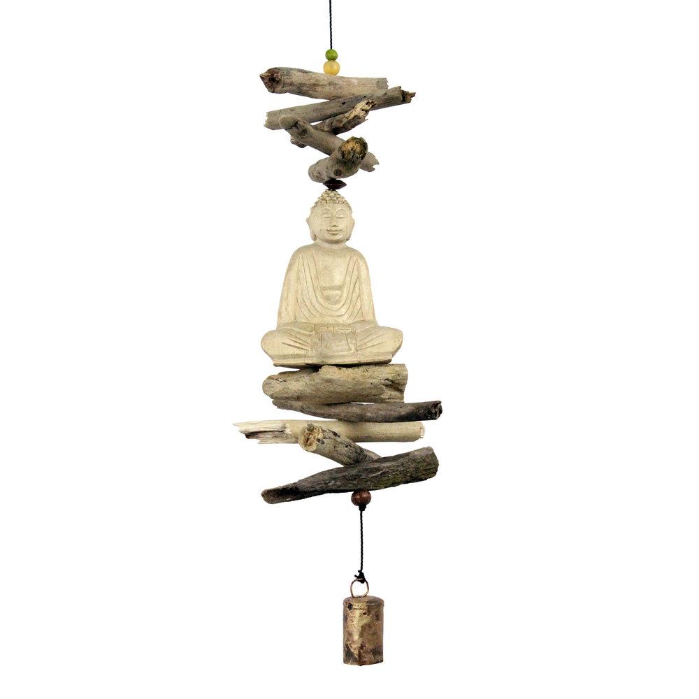 635 - Indonesian Sitting Buddha Cohasset Bell