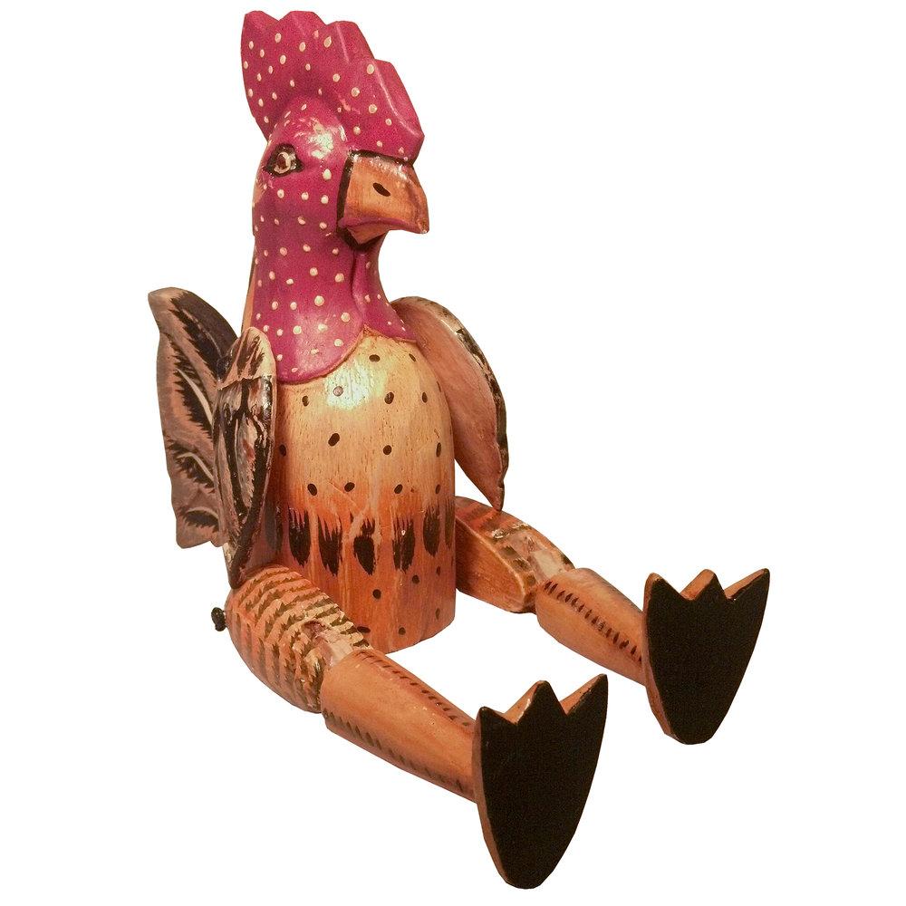 "815M 9"" Bingo Rooster Puppet"