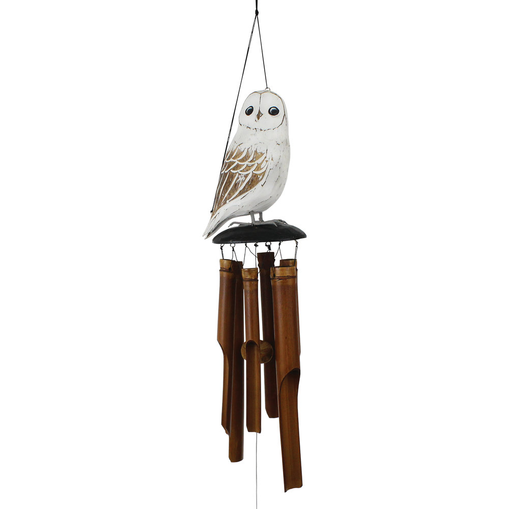 175SOW Owl Wind Chime