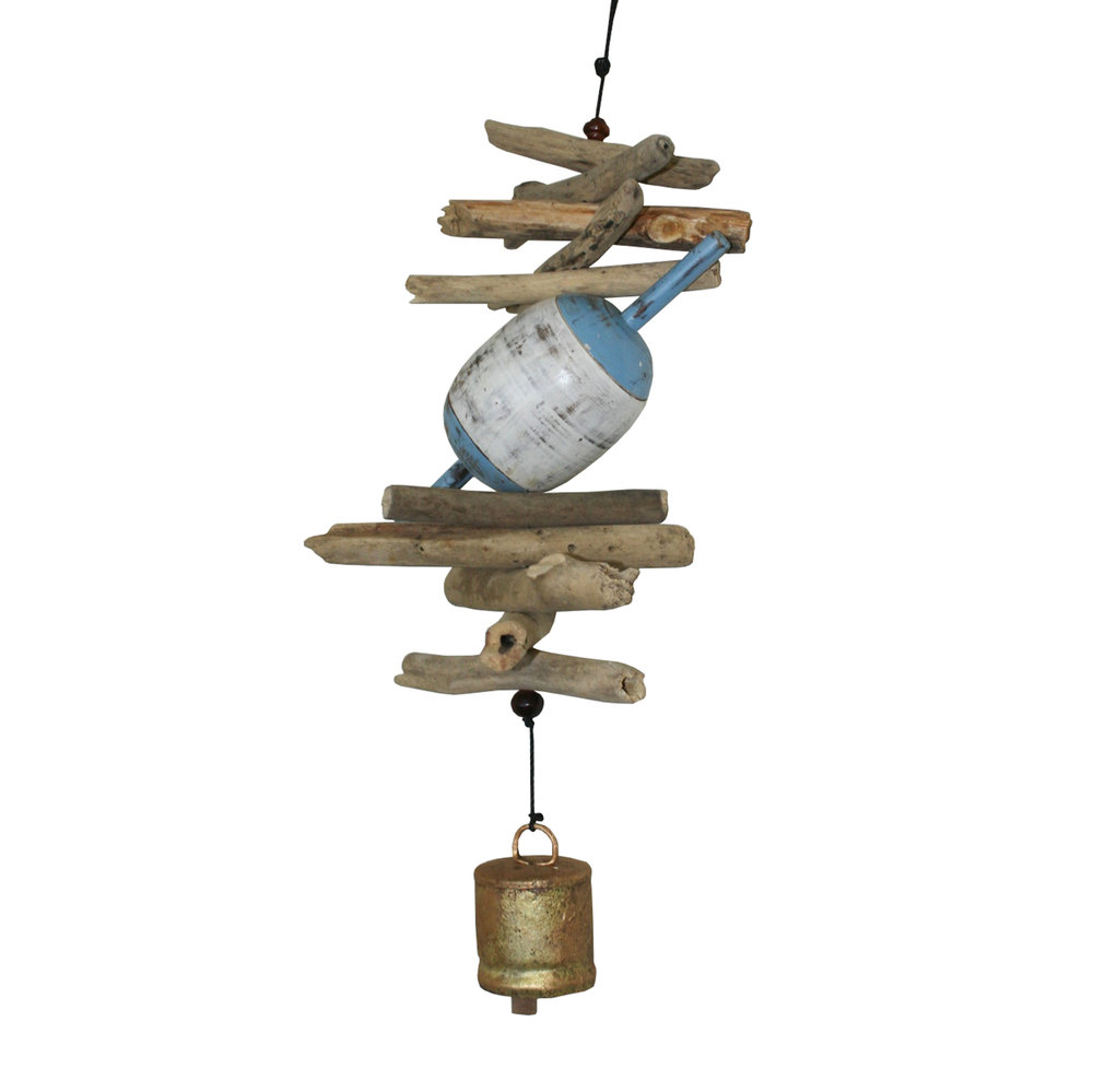 """601 - 6"""" Wooden Fish Float Cohasset Bell"""
