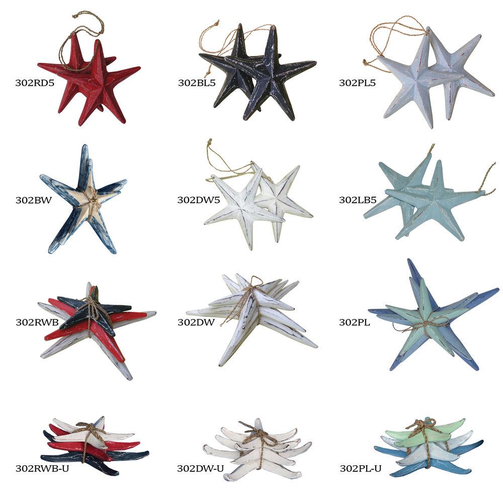 Cohasset Star Fish Sets