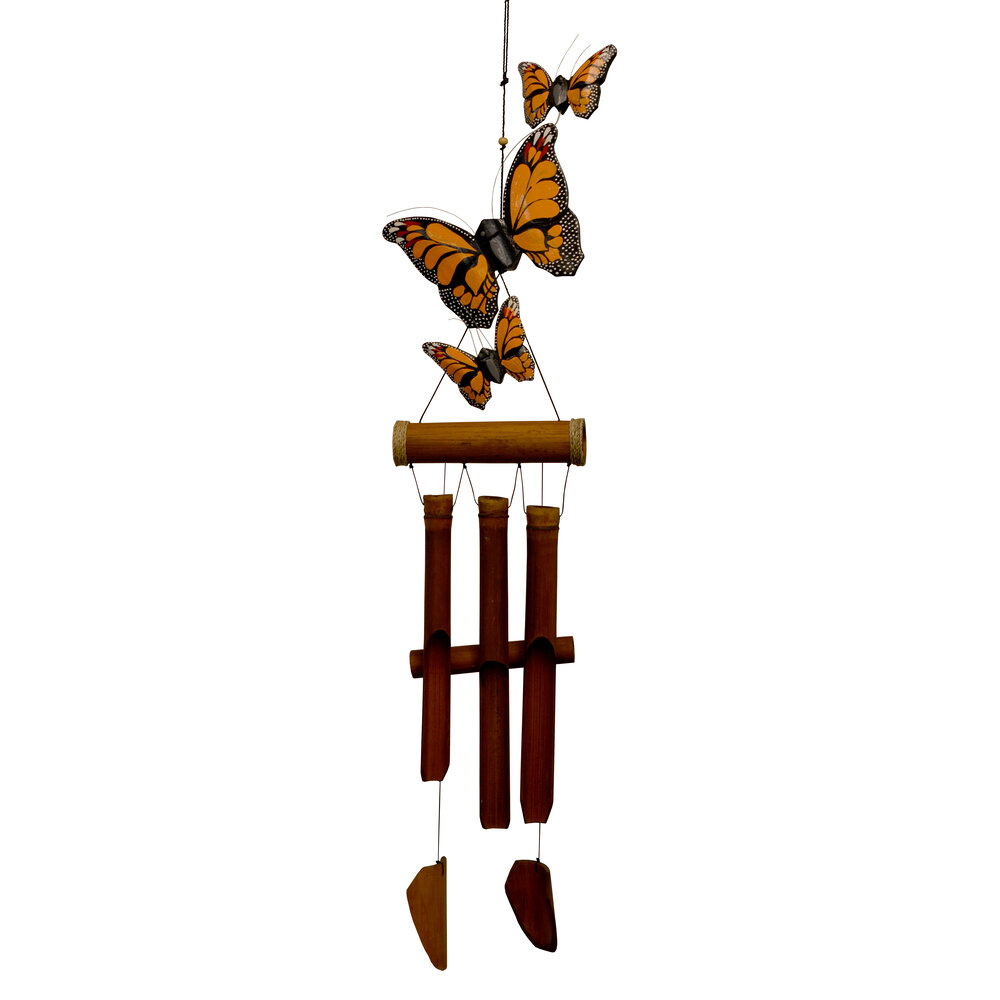 186MH - Monarch Butterfly Harmony Chime