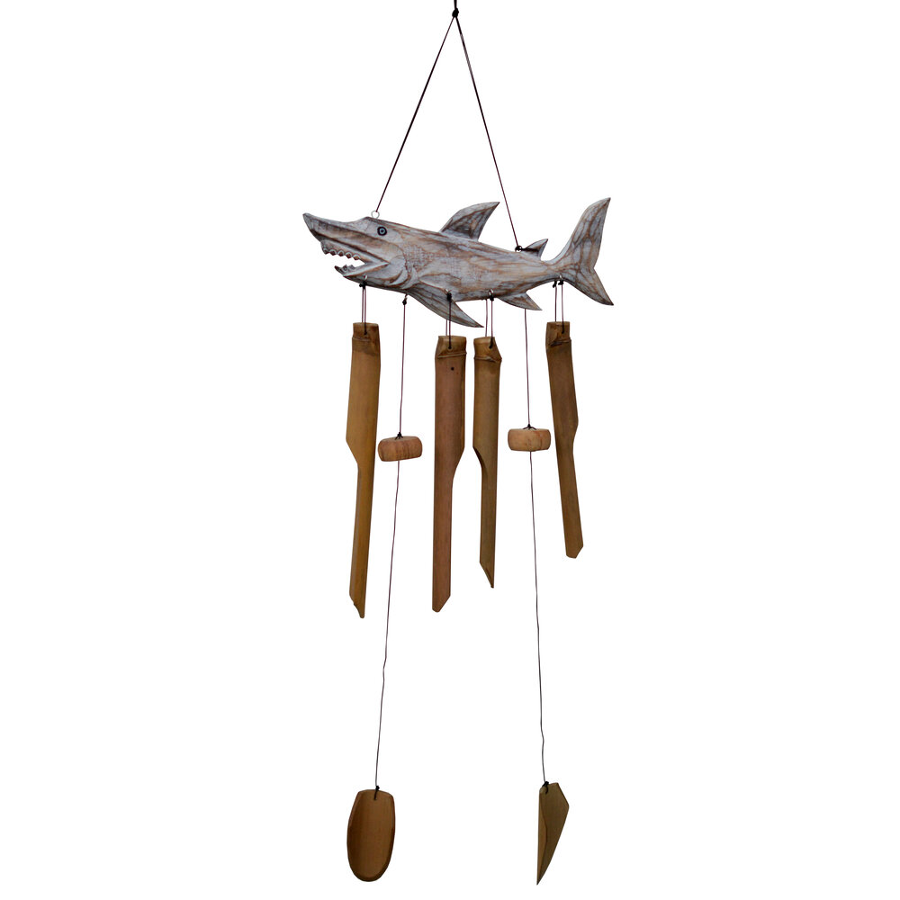 211S - Shark Bamboo Wind Chime