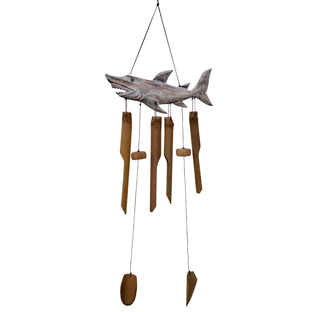 211S - Shark Bamboo Wind Chime