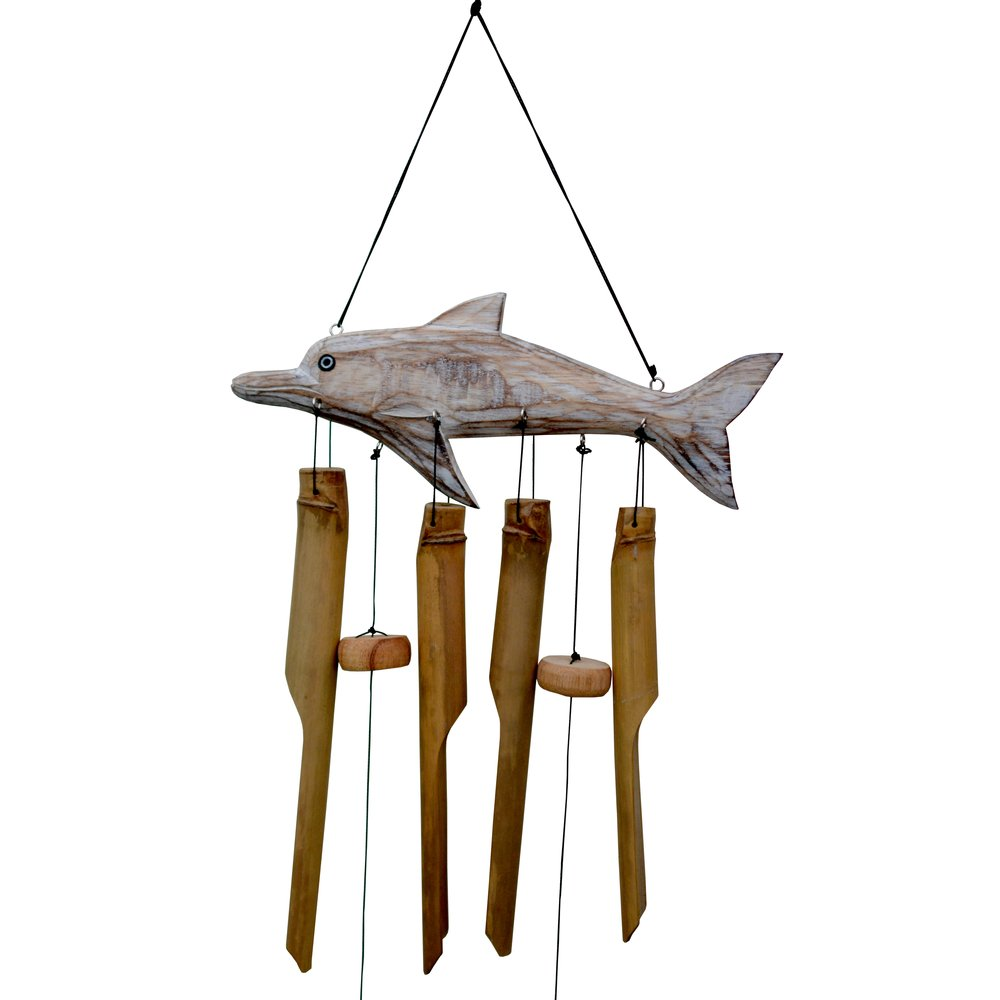 211D - Dolphin Bamboo Wind Chime