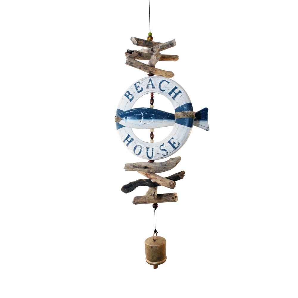 542LRF - Life Raft Fish Cohasset Bell