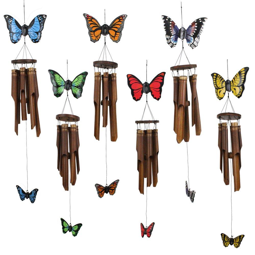 186S - 6pc Flat Butterfly Set