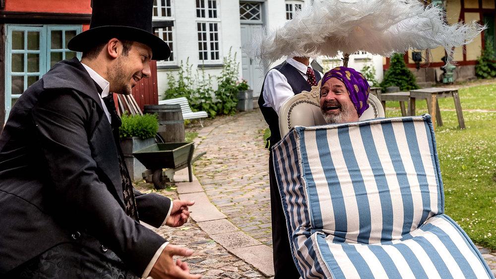 Foto copyright Holbæk Teater - Billedet er fra prøverne