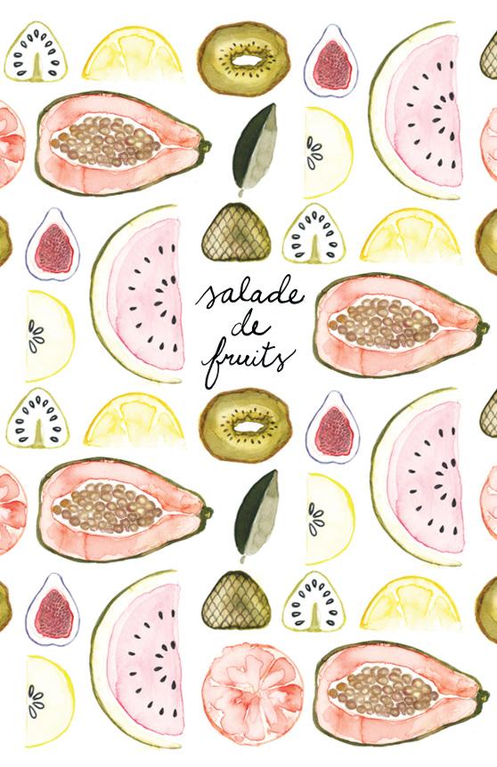 Zine Salade de fruits