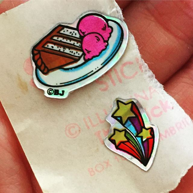 #stickers #80s #cake