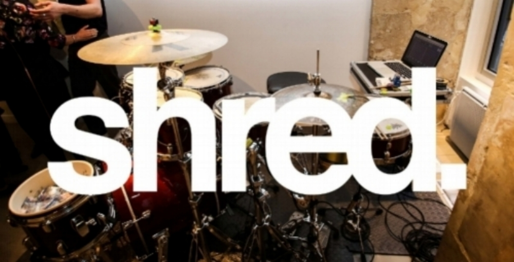 Shred is the first step to digitizing the acoustic drum kit