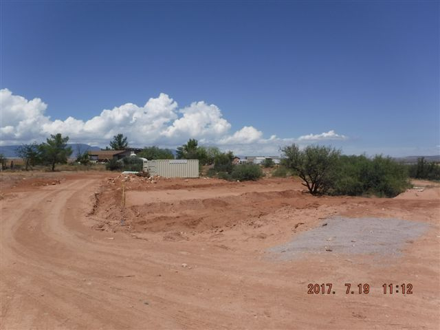 Building site before construction