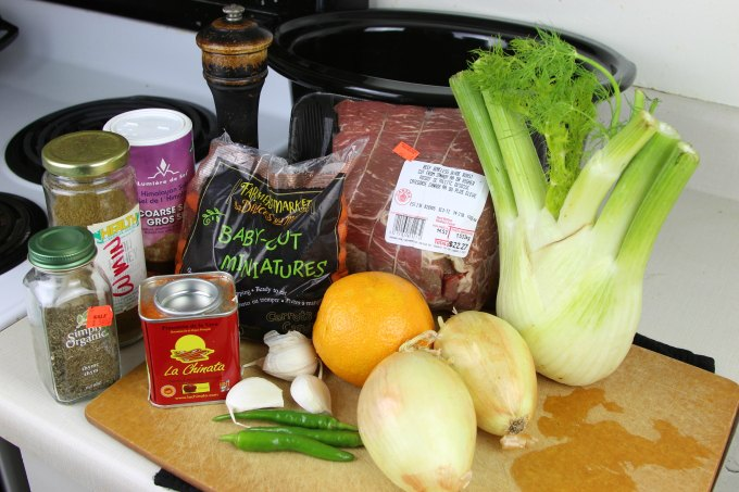Slow Cooker Beef Roast Ingredients