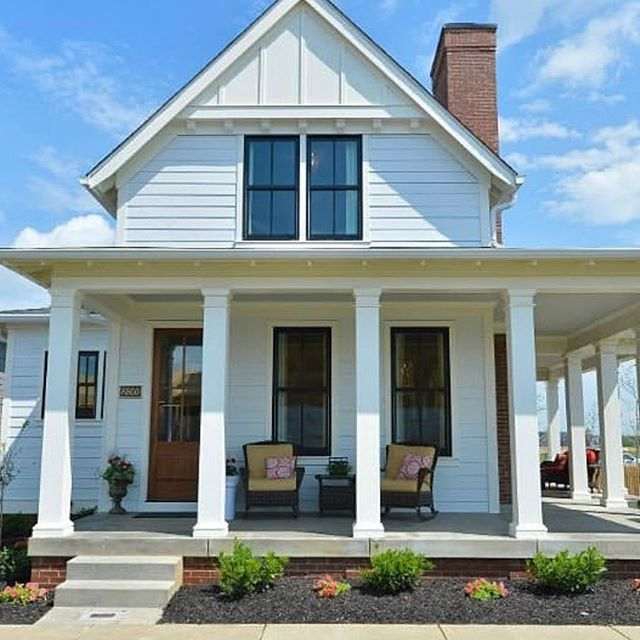 One of our customer's most desired exterior upgrades is the addition of a front porch. Outdoor living spaces are popular additions perfect for lounging, entertaining, or dining alfresco. All of our Clearview Farm Preserve homes come with open-air space built into their design via a 16'x12' paver patio in the rear. We love seeing how each of our customers makes their new home uniquely their own._ • • • 📷: @hookedonhouses _  #frontporch #porching #connecticutrealestate #newhomes #cheshire #cheshirect #residentialdevelopment #clearviewfarmpreserve #subdivision #cthomes #realestate #homebuyers #dreamhouse #realtor #ctliving #connecticut #ctrealestate #newconstruction