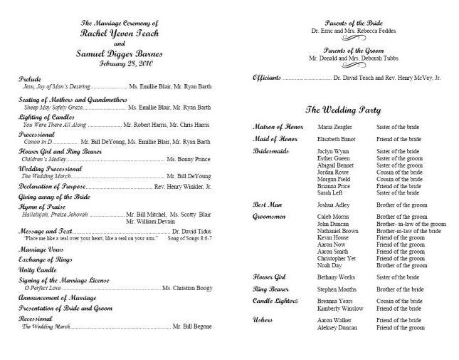example of printed program4 traditional.JPG