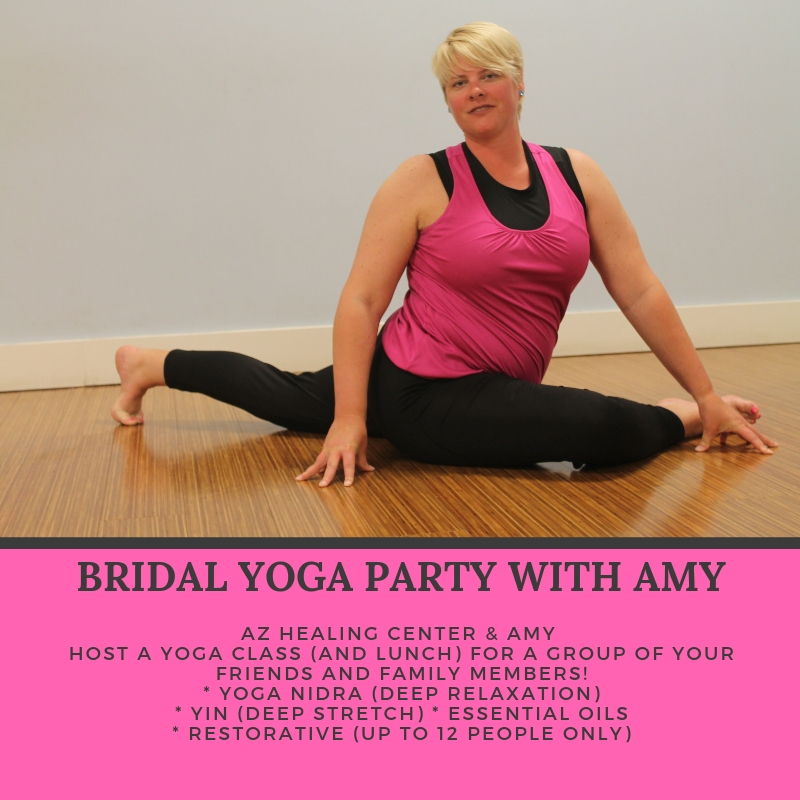 Click on the image to learn more about a Bridal Yoga Party with Amy