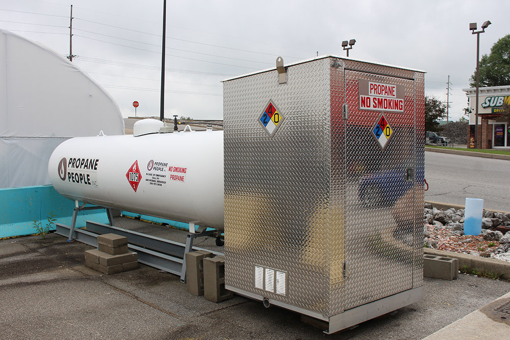 Propane Fill - contact store for info