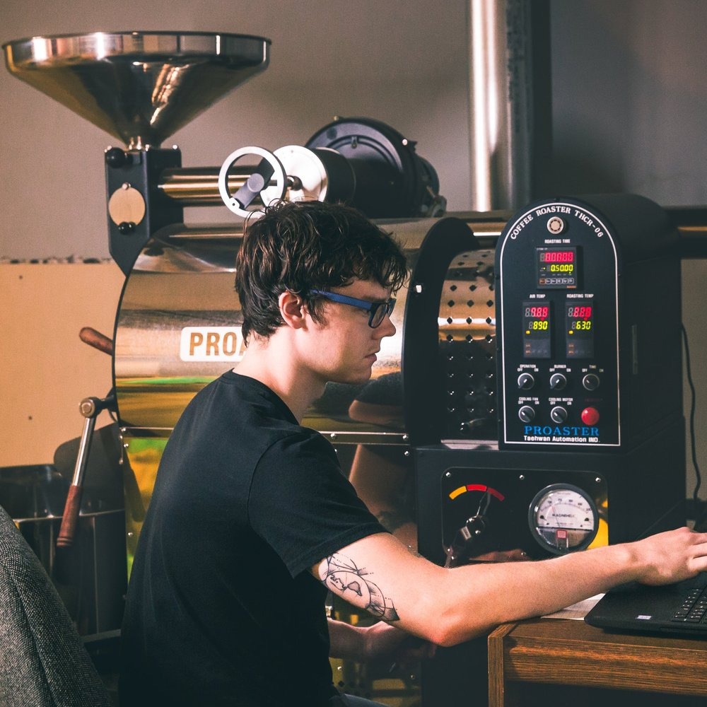Connor James, Coffee Roasting and Account Manager