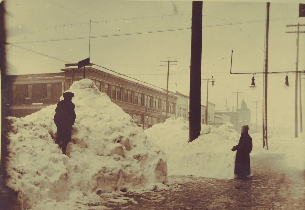 Did you know that Everett got 30 inches of snow in 1916?