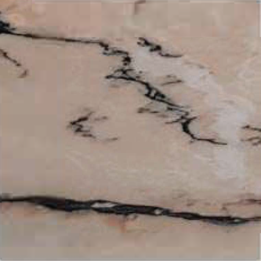 "ARABESCATO ROSA POLISHED STONE 3 / 4"" SLAB 2CMTHICK"