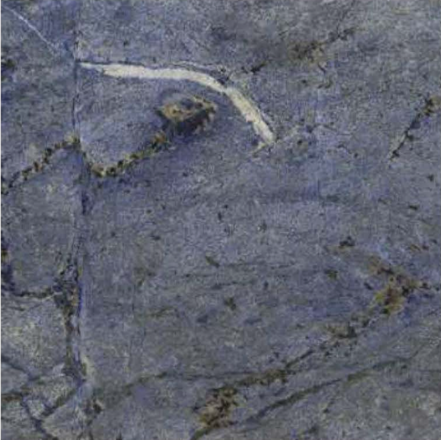 "AZUL BAHIA POLISHED STONE 3/4"" SLAB 2CM THICK"