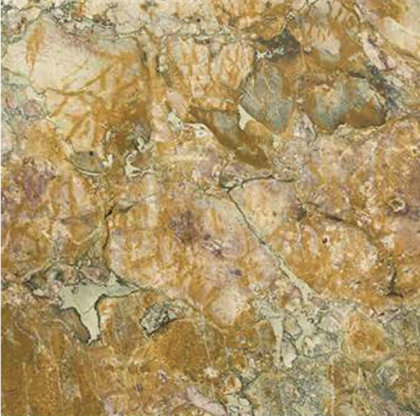 "BRECCIA DE VENDOME POLISHED STONE 3/4"" SLAB"