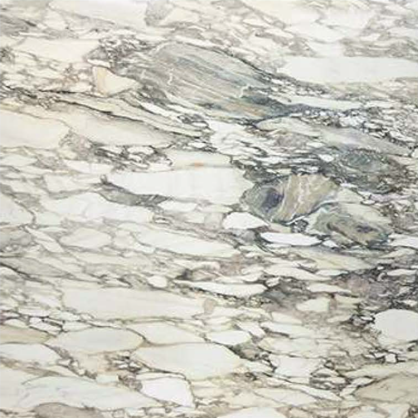 "BRECCIA IMPERIALE POLISHED STONE 1-1/4"" SLAB"