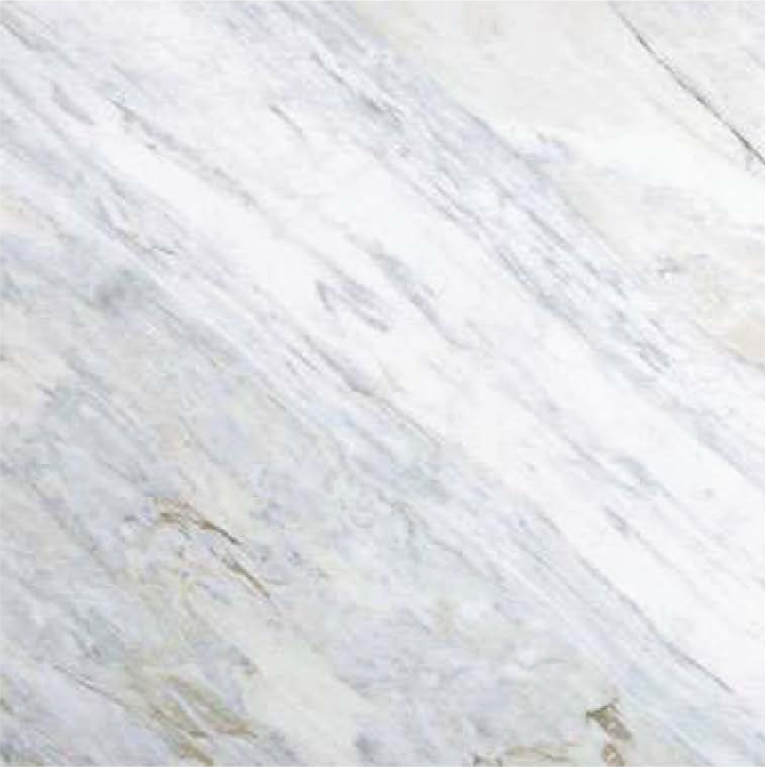 "CALACATTA BLUETTE POLISHED STONE 3/4"" SLAB 2CM THICK"