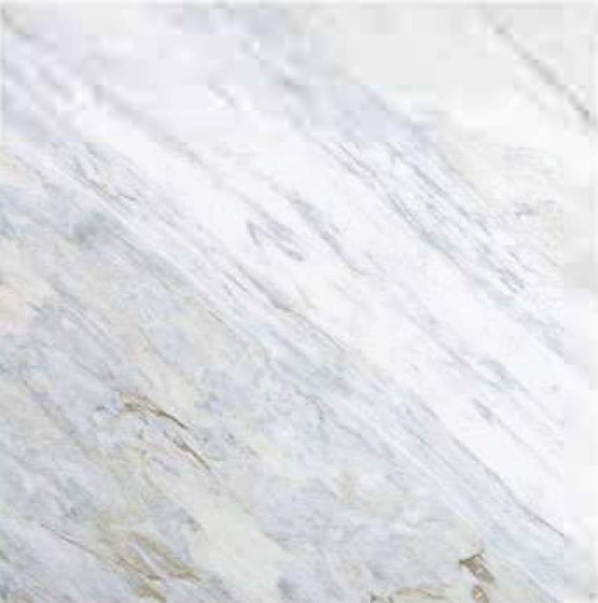 "CALACATTA BLUETTE POLISHED STONE 1-1/4"" SLAB 3CM THICK"