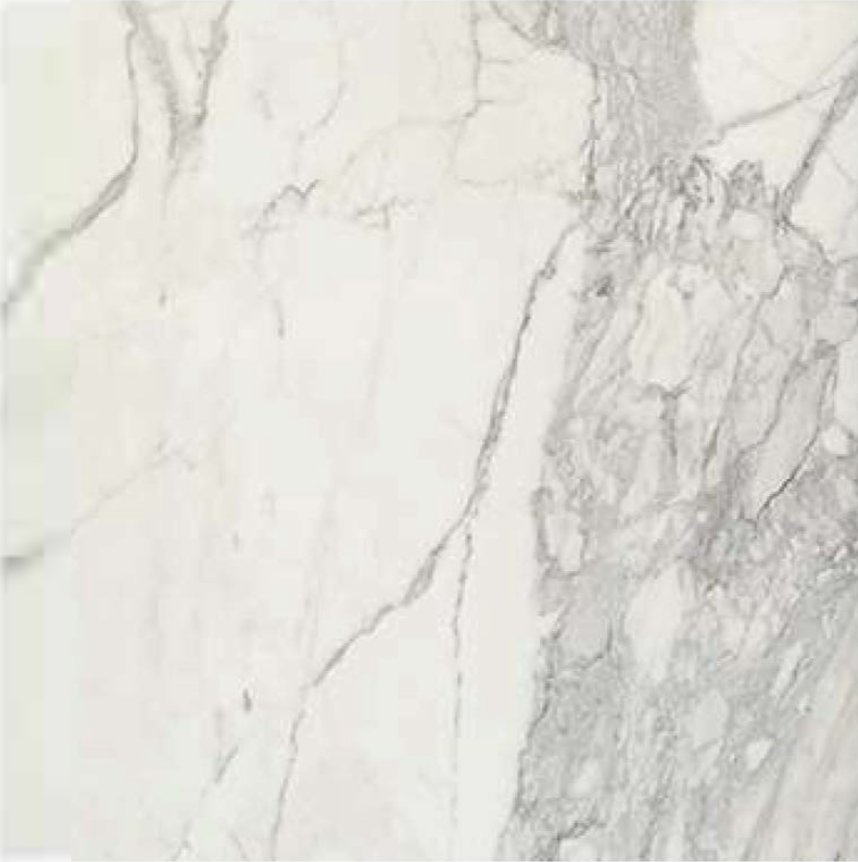 "CALACATTA GOLD A1 SELECT POLISHED STONE 1-1/4"" SLAB 3CM THICK"