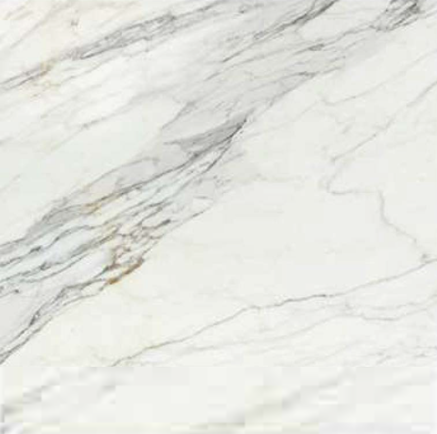 "CALACATTA GOLD POLISHED STONE 96"" x 36"" x 3/8"" SLAB"
