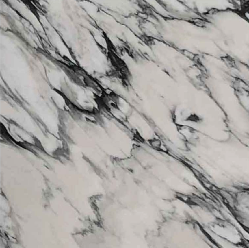 "CALACATTA MANHATTAN POLISHED STONE 3/4"" SLAB 2CM THICK"