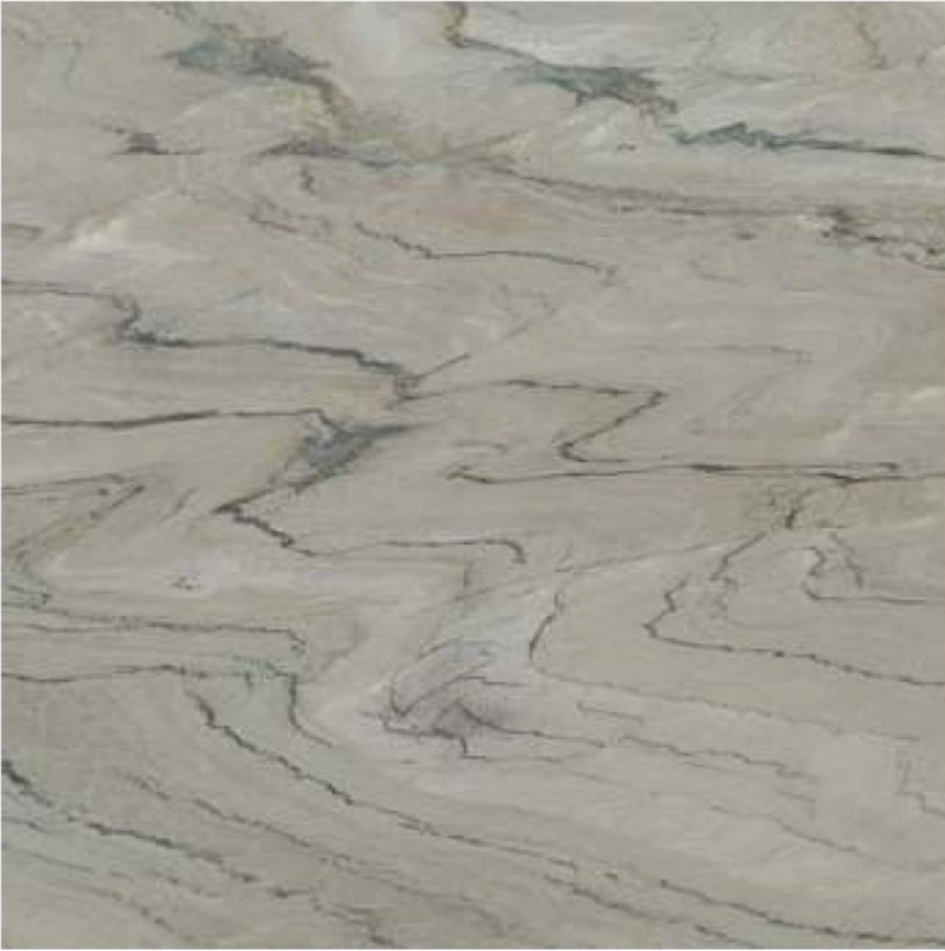 "FANTASY WHITE POLISHED STONE 3/4"" SLAB 2CM THICK"