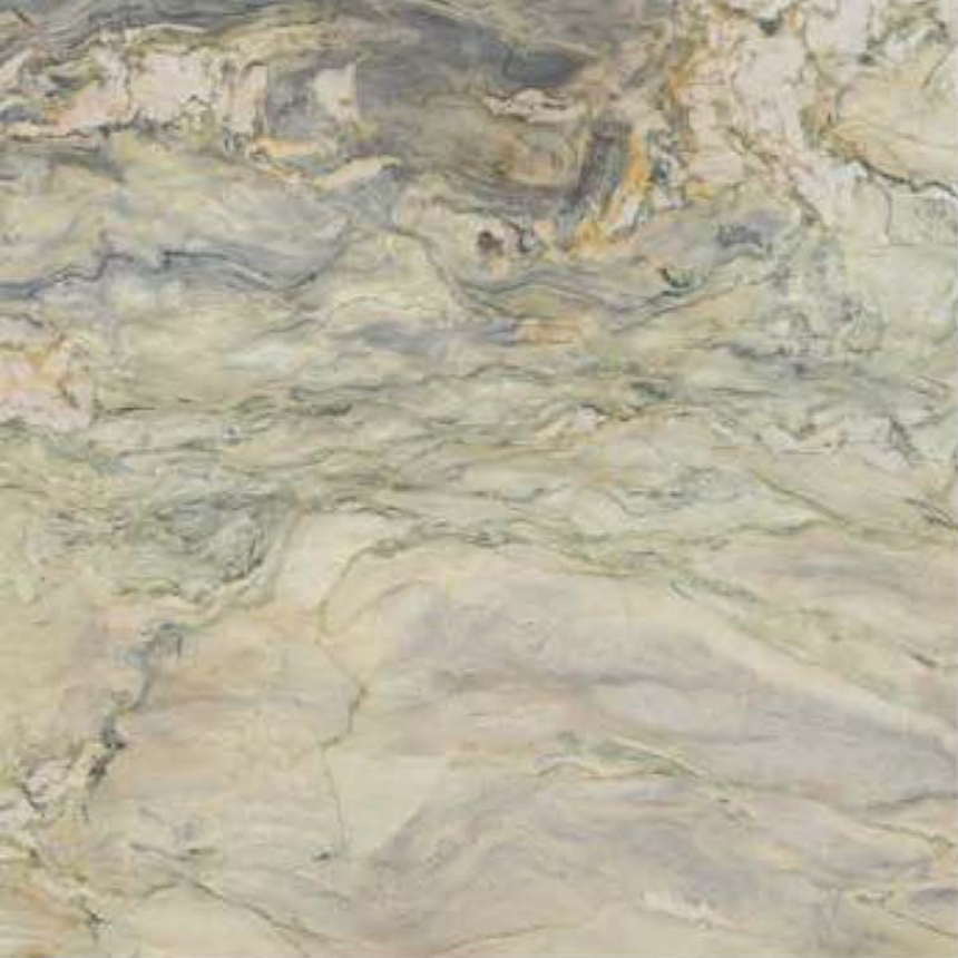 "FUSION WOW LIGHT LEATHER STONE 1-1/4"" SLAB 3CM SLAB"