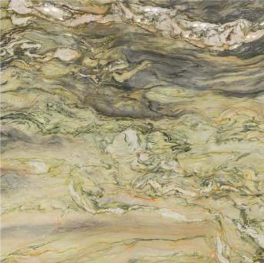 "FUSION WOW LIGHT POLISHED STONE 1-1/4"" SLAB 3CM SLAB"
