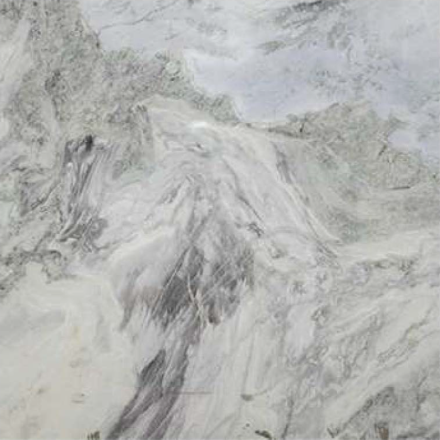 "GLACIAL FROST POLISHED STONE 1-1/4"" SLAB"