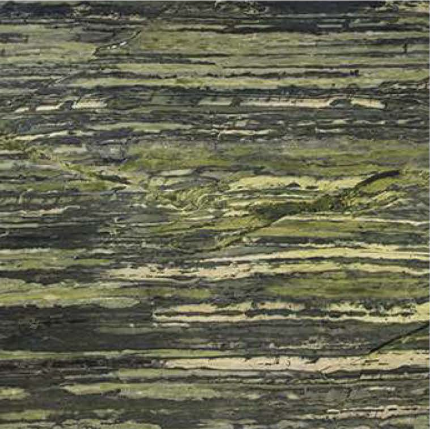 "GREEN BAMBOO POLISHED STONE 3/4"" SLAB"