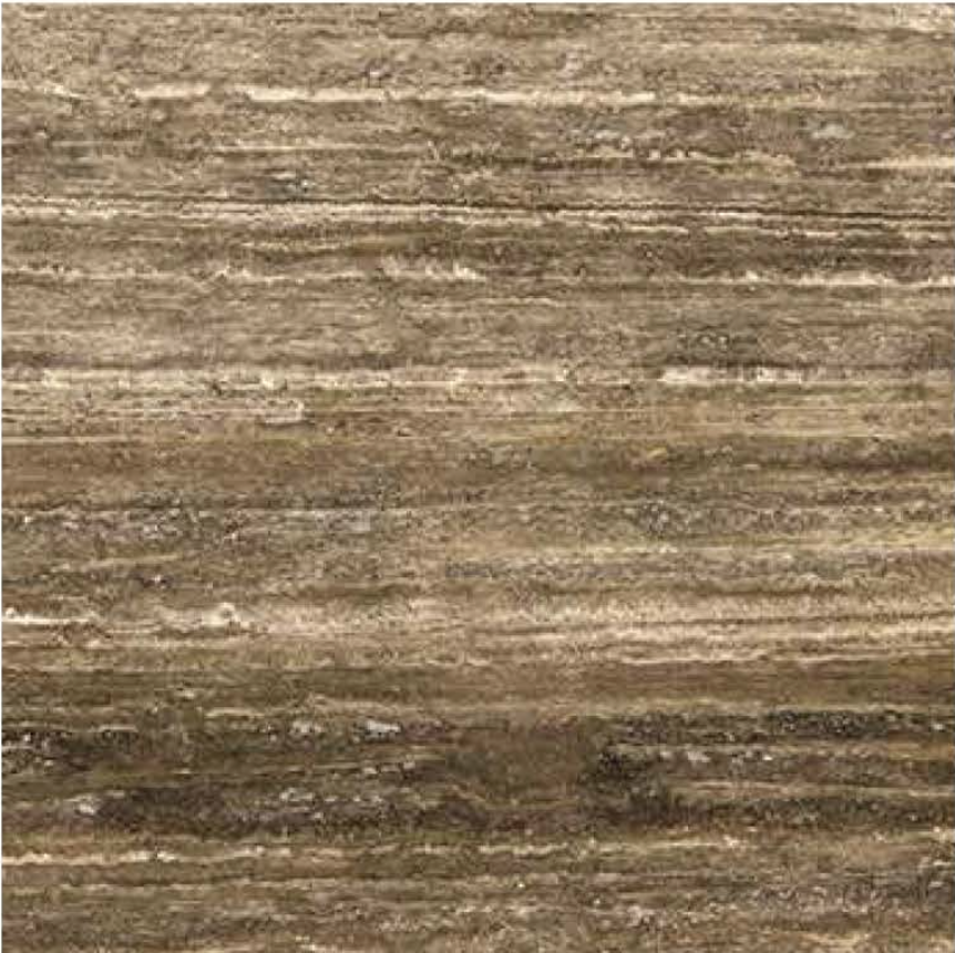 "OCEAN BROWN VEIN CUT FILLED POLISHED STONE 3/4"" SLAB"