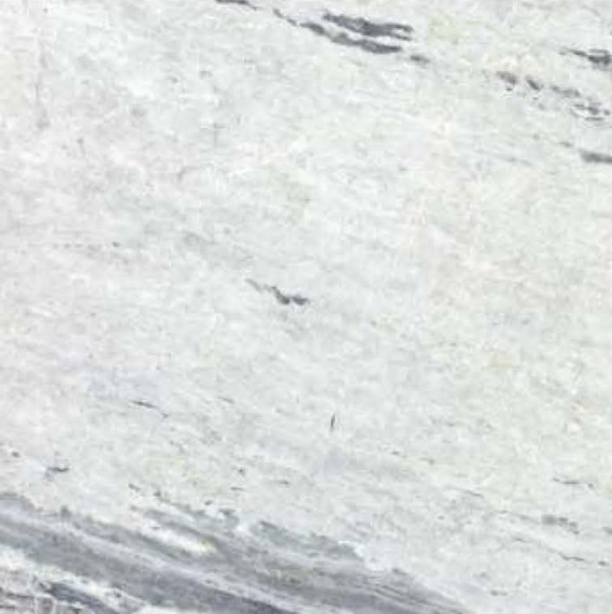 "PRINCESS WHITE HONED STONE 3/4"" SLAB 2CM THICK"