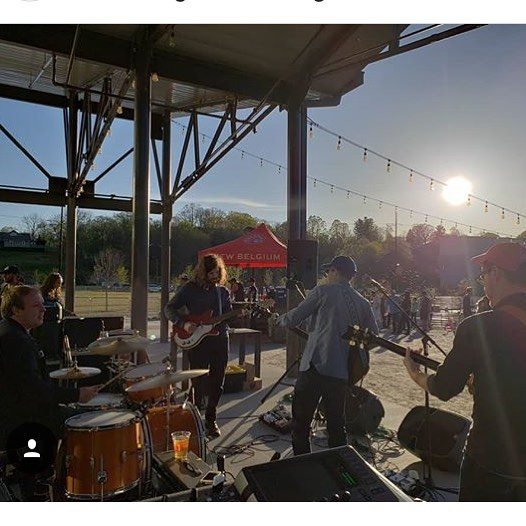 Beautiful sun at @newbelgium_avl on Friday. Catch us next weekend in Nashville at @thehighwatt and in Mobile at @callaghans_irish_social_club. 📸: @worthwhilesounds