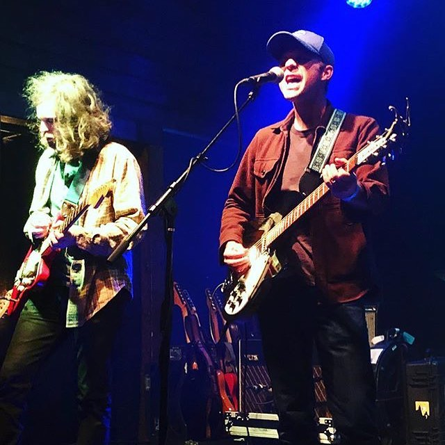 Good times at @thehighwatt with @greatpeacock last night. Fantastic sounding room and great crowd! On our way to Mobile this morning to play one of our favorite spots on Earth - @callaghans_irish_social_club@- with @brookandbluff.