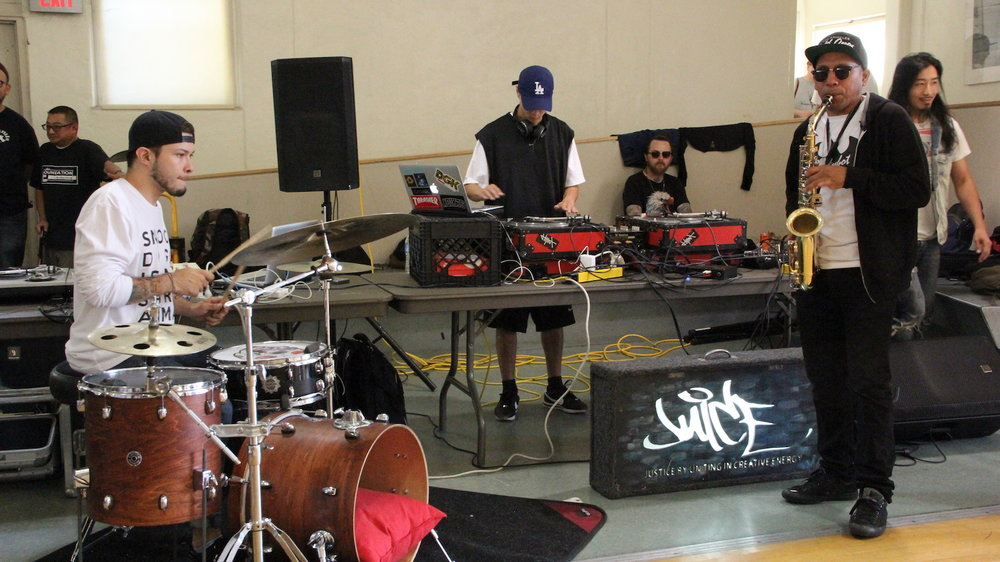 JUiCE Los Angeles Hip Hop Nonprofit Breakdance Music Art Community Youth Breakdance Los Angeles Sax Turntables Drums Free.JPG