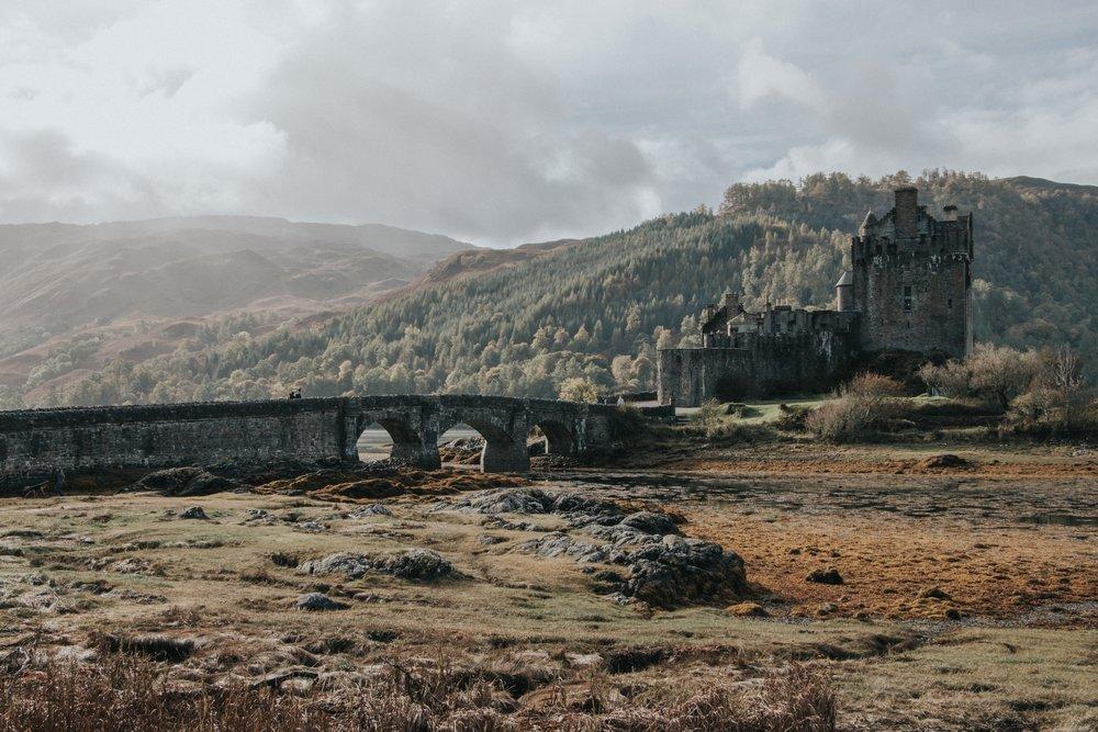 Eileen Donan Castle, Dornie by Lydia Harper