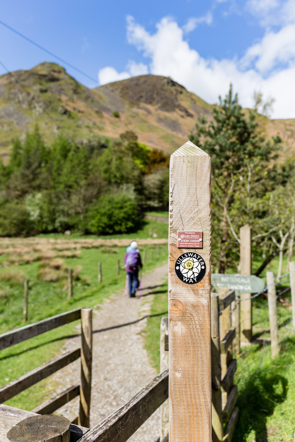 Follow signs for the Ullswater Way