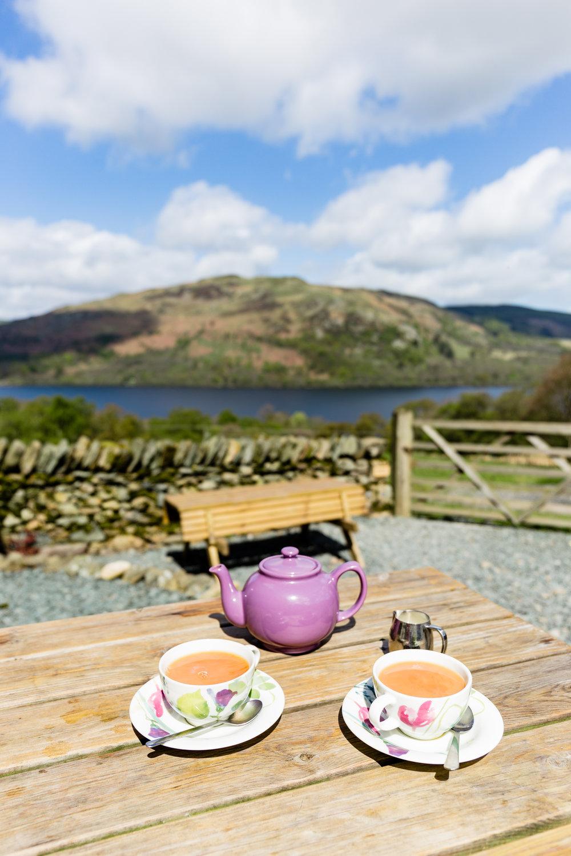 Tea at Lowther Barn Tearoom