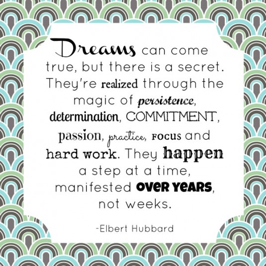 Dreams come true - Hubbard