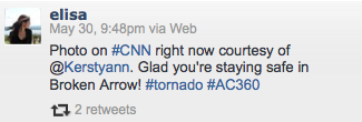 Tornado pic on CNN