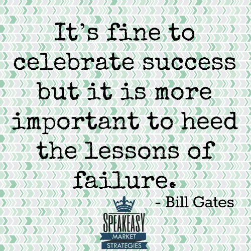 Lessons of Failure - Bill Gates